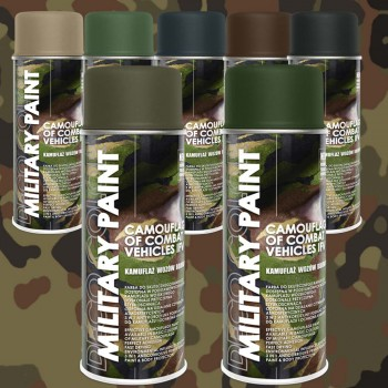 Deco Color Militär - Lacksprays nach RAL 400ml