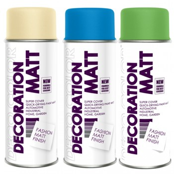 Deco Color LACKSPRAYS MATT nach RAL 400ml