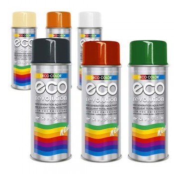 Deco Color Eco Lacksprays Wasserbasiert nach RAL 400ml