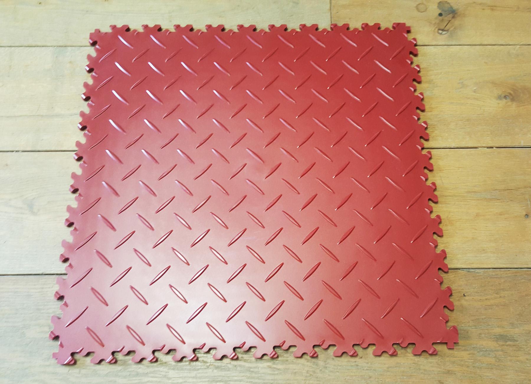 premium pvc 510 x 510 x 7mm werkstatt fliese diamond farbe. Black Bedroom Furniture Sets. Home Design Ideas