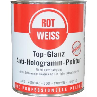 rotweiss top glanz anti hologramm politur 750ml. Black Bedroom Furniture Sets. Home Design Ideas